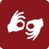 Personal con conocimientos de Lengua de Signos
