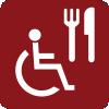 Restaurante / cafeteria accesible