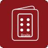 Guias o información en braille