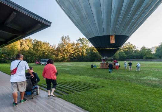 Vuelo en Globo Adaptado - Ballooning Accessible - 1