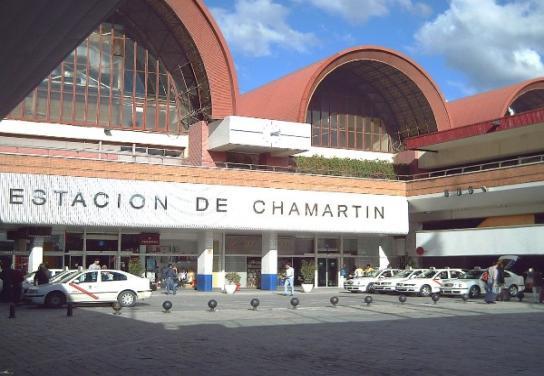 Estación Madrid-Chamartín