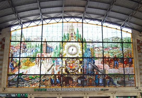 Estación Bilbao Abando Indaleci ...